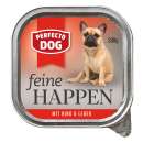 Perfecto Dog Feine Happen Rind & Leber 300g