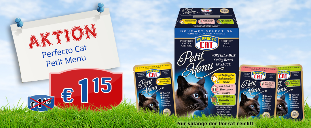 Perfecto Cat Petit Menu 6x50g