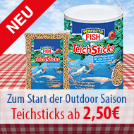 Perfecto FISH Fischfutter Teichsticks