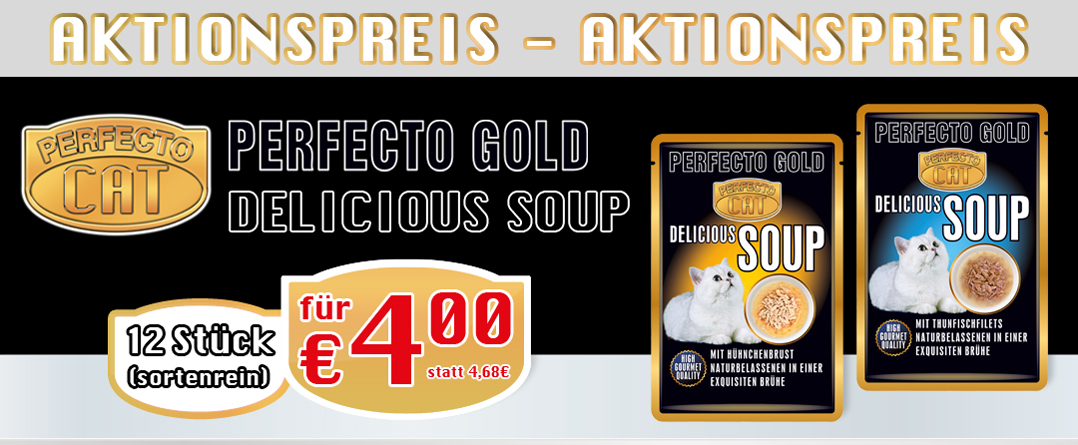 Perfecto Cat Delicious Soup