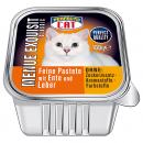 Perfecto Cat Menue Exquisit 100g - Ente & Leber