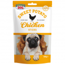 Perfecto Dog Sweet Potato Chicken Sticks 100g