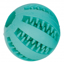 Perfecto Fun Vollgummi-Ball Dental Care mit Minzaroma 5 cm