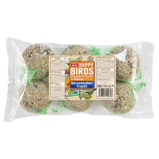 Perfecto Bird Happy Birds Meisenknödel Frucht 6er 540g