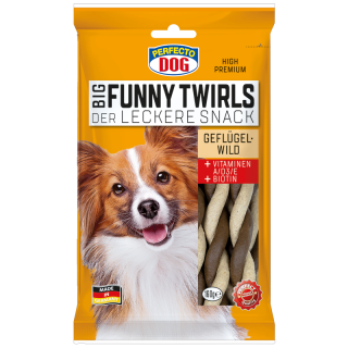Perfecto Dog Big Funny Twirls 160g